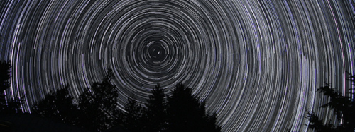 B. I want to finally shoot a Star Trail